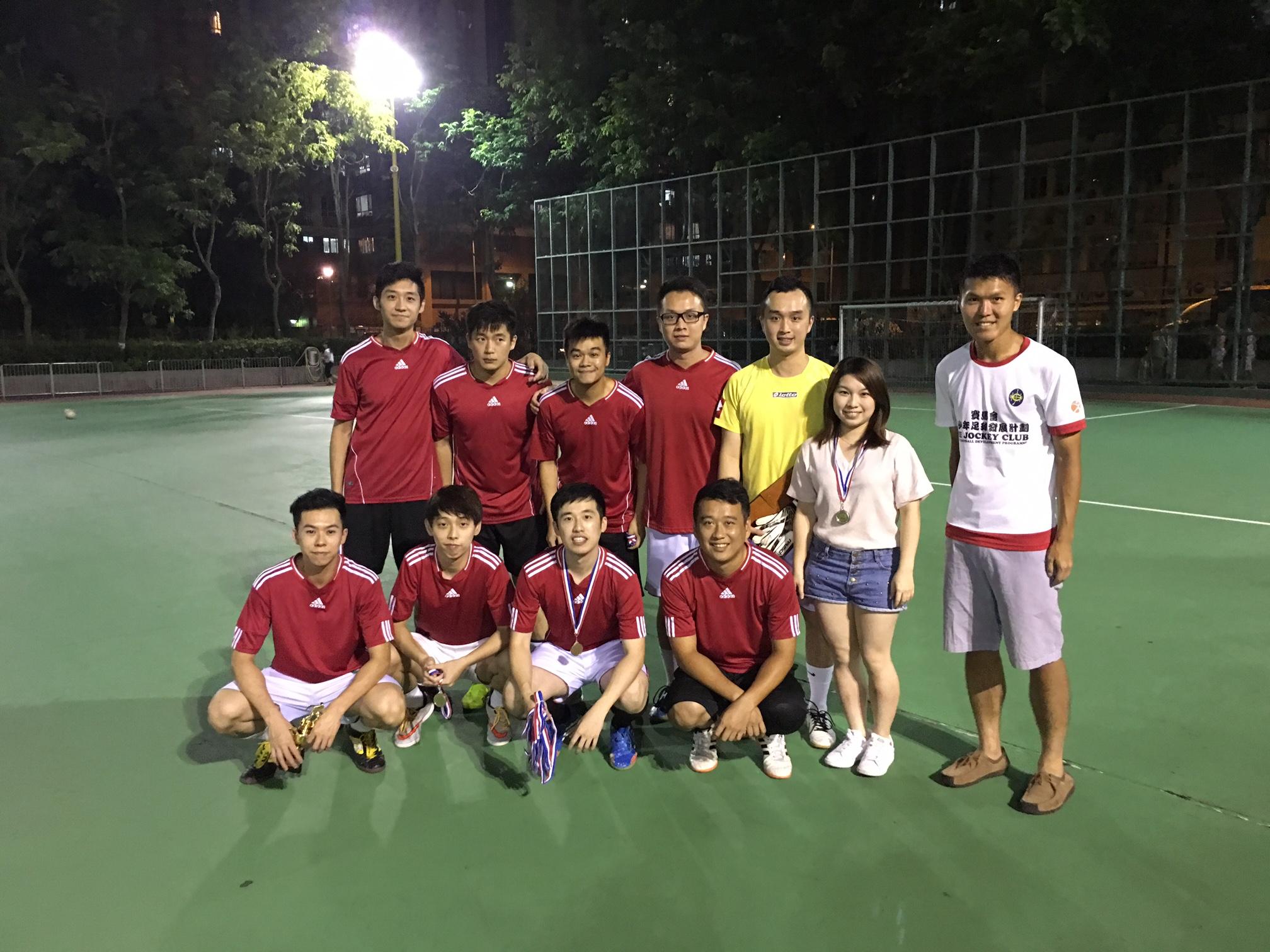 AC mega league weekend 2015-16 亞軍 FC Avengers
